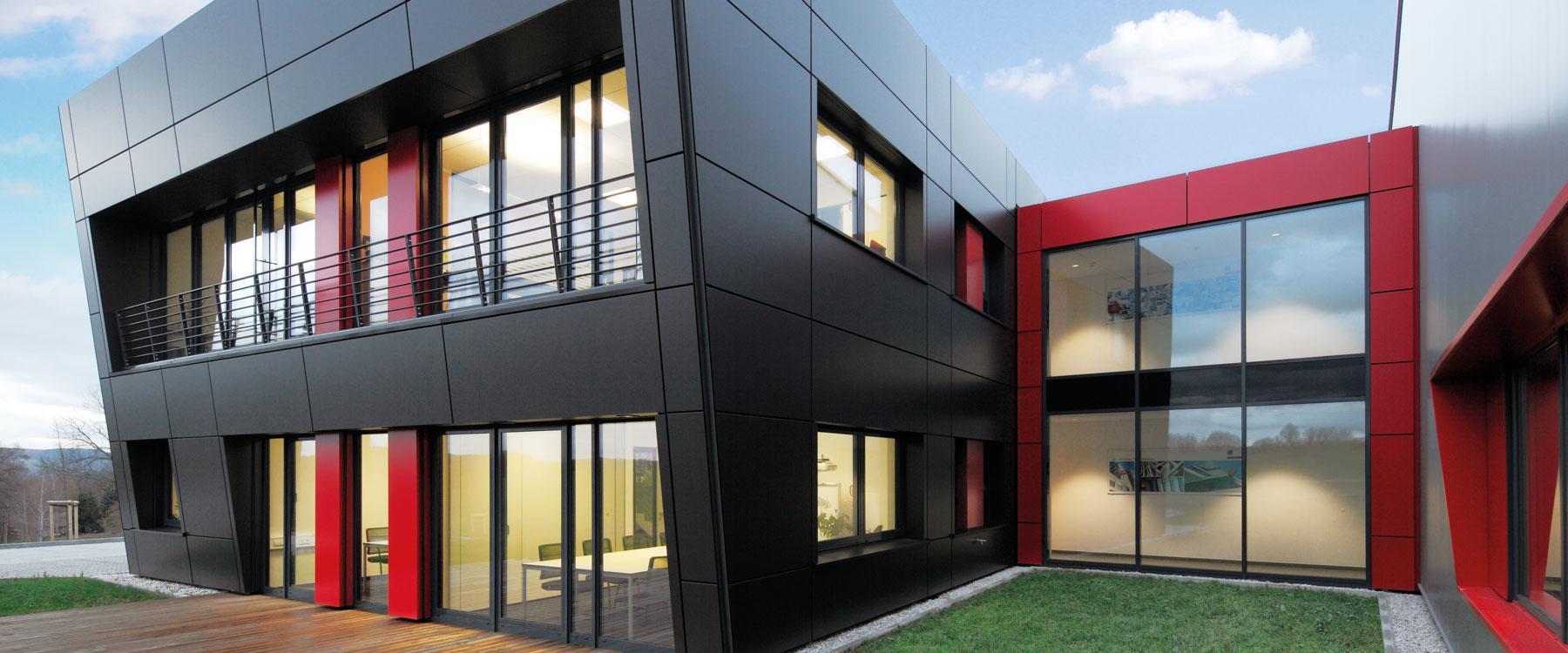 schrag chemnitz schrag fassaden. Black Bedroom Furniture Sets. Home Design Ideas